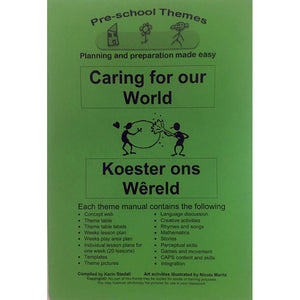 Teacher resource, theme book, Caring for our world