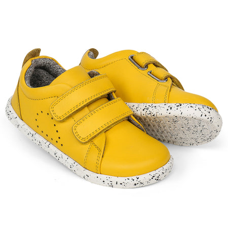 Bobux Grass Court Casual Shoe Lemon I-Walk & Kid+