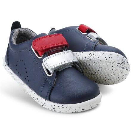 I-Walk Grass Court Switch Navy (Red + Silver Metallic)