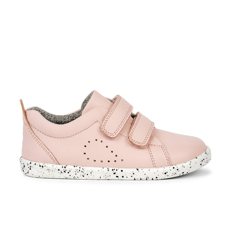 Bobux Grass Court Casual Shoe Seashell Pink i-Walk