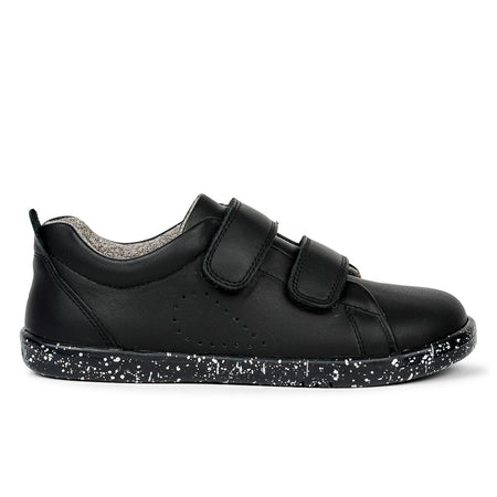 Bobux Grass Court Shoe Black Kid+