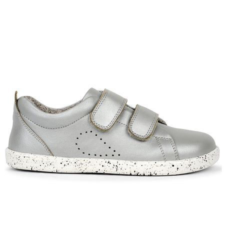 Bobux Grass Court Shoe Silver I-Walk & Kid+