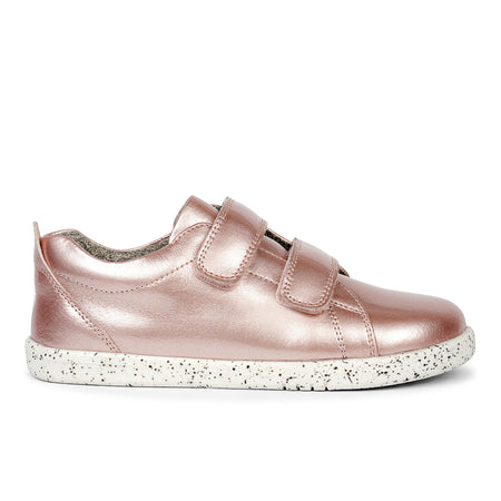 Bobux Grass Court Casual Shoe Waterproof Rose Gold I-Walk & Kid+