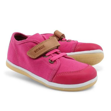 Bobux Fuschia Chill Canvas Trainer I-Walk & Kid+