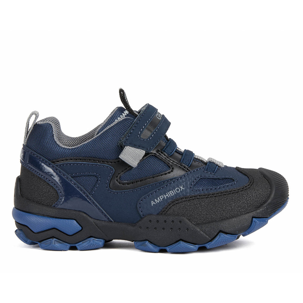 Geox J Buller Navy/Grey Shoes