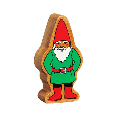Natural Green & Red Gnome
