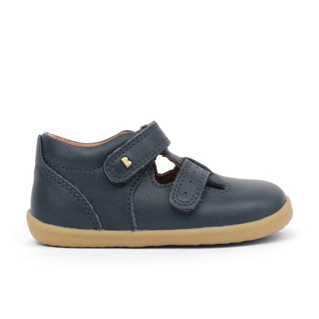 Bobux Jack and Jill T-Bar Navy Step Up (First Walkers)