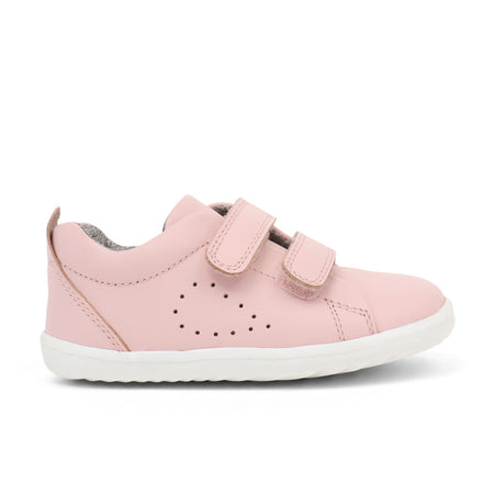 Bobux Grass Court Casual Shoe Seashell Pink Step Up (First Walkers)
