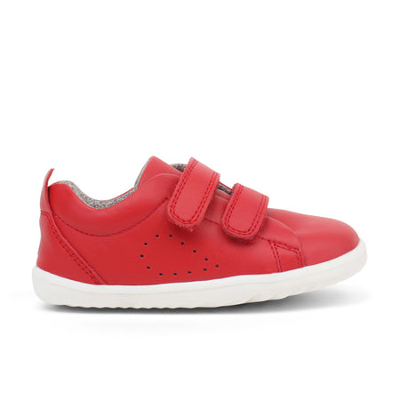Bobux Grass Court Trainer Red Step Up (First Walkers)