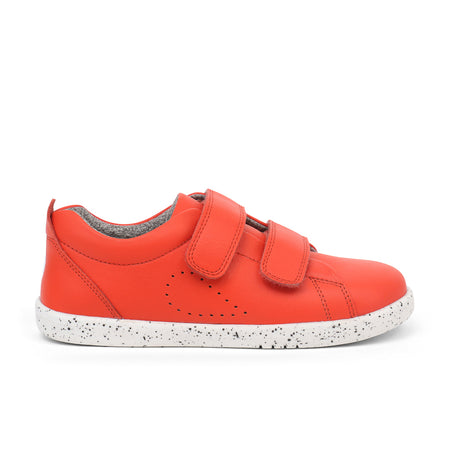 Bobux Grass Court Casual Shoe Orange I-Walk & Kid+