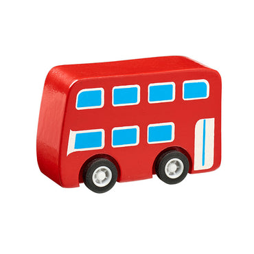 Mini Vehicle Red Bus