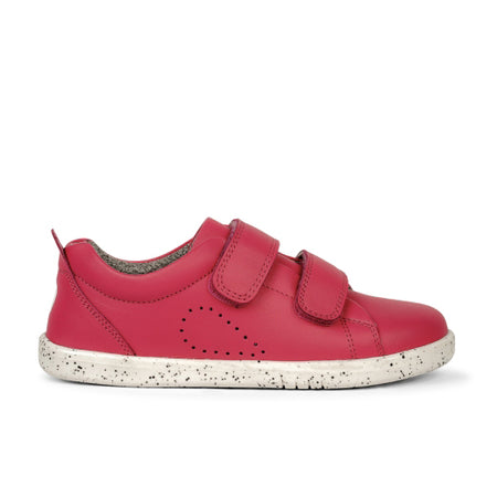 Bobux Grass Court Casual Shoe Strawberry I-Walk & Kid+