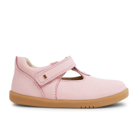 Bobux IW Louise T-Bar Seashell Pink