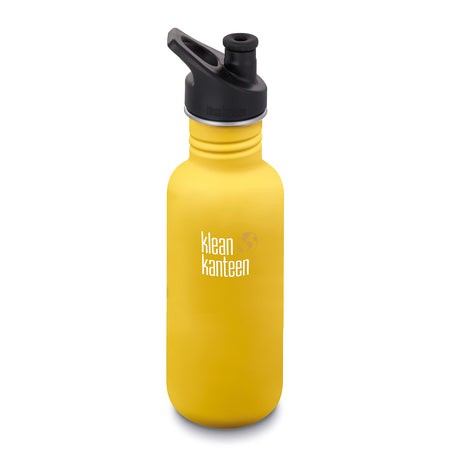 Klean Kanteen Classic Single Wall Bottle with Sports Lid 18oz/532ml