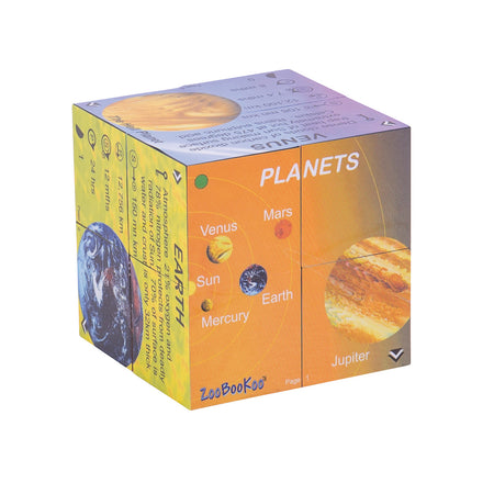 Planets Cube Book - Solar System Statistics