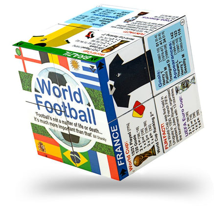 World Football Cube Book - Top World Cup Teams