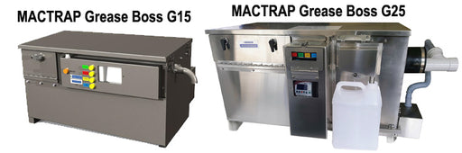 MACTRAP Grease Boss Autowash Units