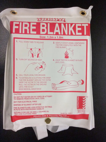 Fire Blanket user instruction