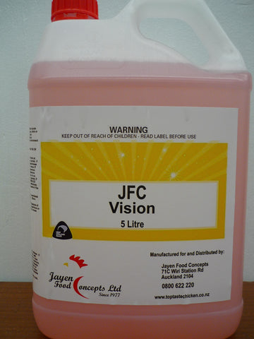 JFC Vision Glass Cleaner 5L