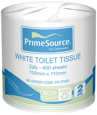 Eco-Clean® 2 Ply Toilet Tissue (48 Rolls)