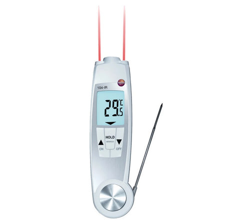 Folding Combo Infrared and Probe Thermometer