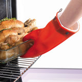 "Mastrad 11"" Silicone Oven Mitt with Cotton Lining"