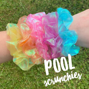 Pool Scrunchies