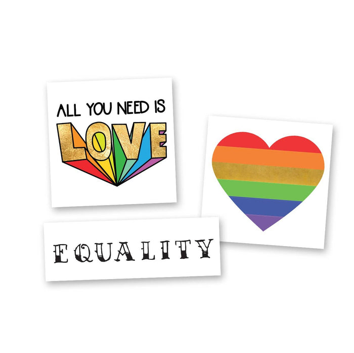 Pride Mini Variety Set - Temporary Tattoo