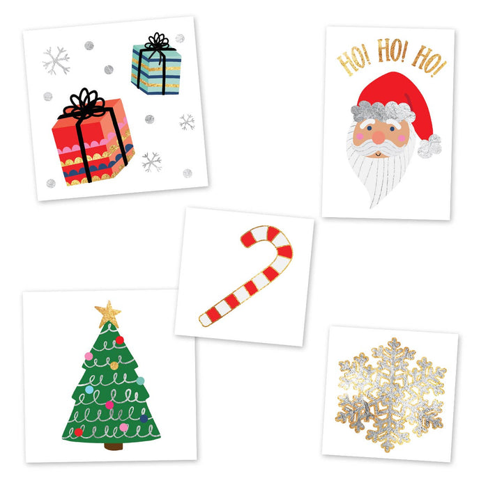 Merry and Bright Variety Set - Temporary Tattoo