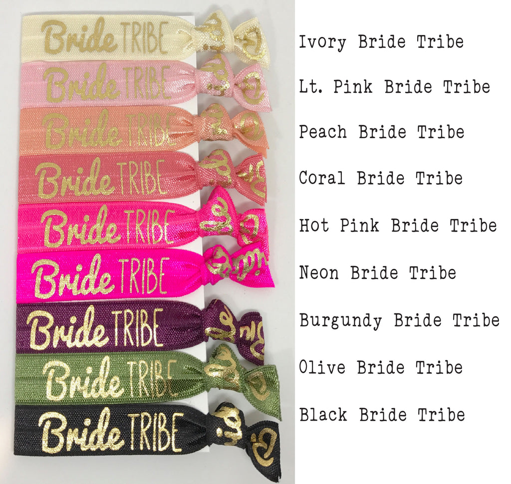 Bridesmaid Proposal Hair Tie Favor, Bridesmaid Ask Gift, Bride Tribe Favors