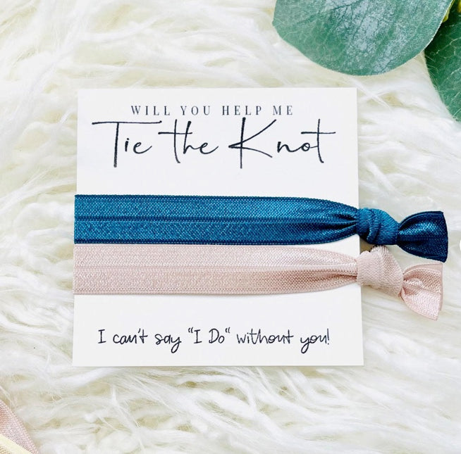 "Will You Help Me Tie the Knot? I Can't Say ""I DO"" Without You! 