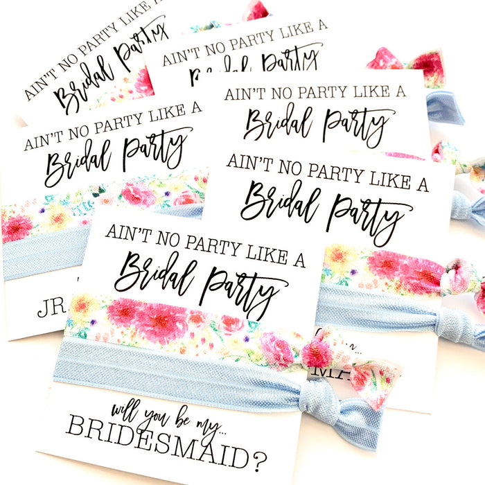 "Bridesmaid Proposal | ""Ain't No Party Like a Bridal Party!"""