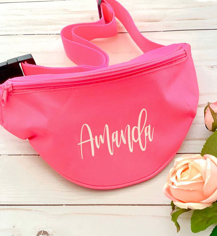 Personalized fanny pack, bachelorette party bags, custom fanny pack, brides babes fanny pack, bridesmaid gift, bridal party gift