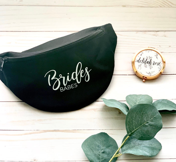 Bachelorette party fanny pack, bachelorette party bags, custom fanny pack, brides babes fanny pack, bridesmaid gift,