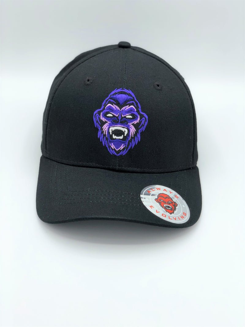 Moncaii Black Signature 6 Panel Cap - Moncaii