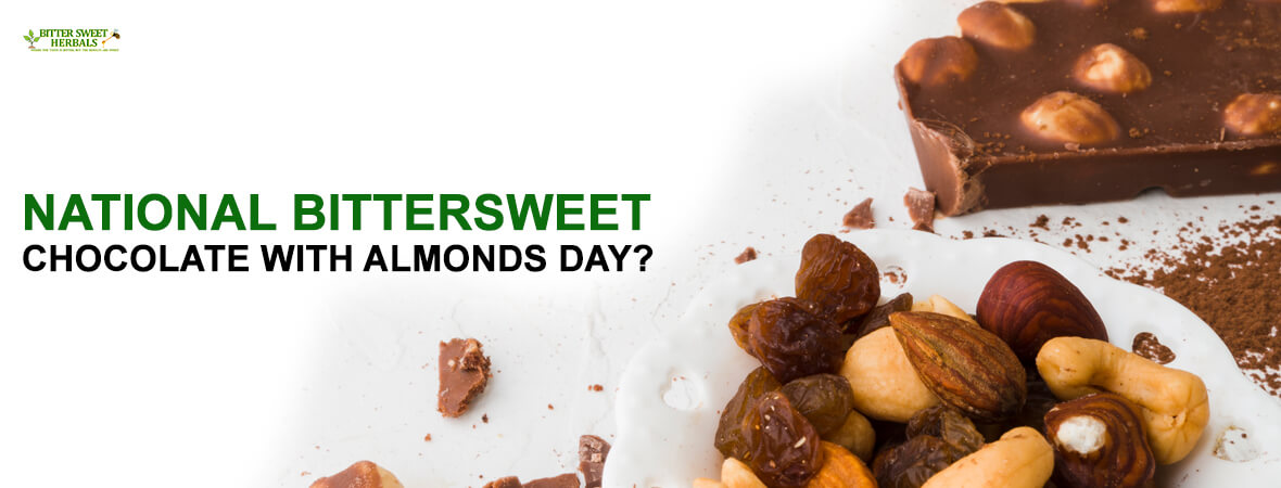 National Bittersweet Chocolate With Almonds Day?