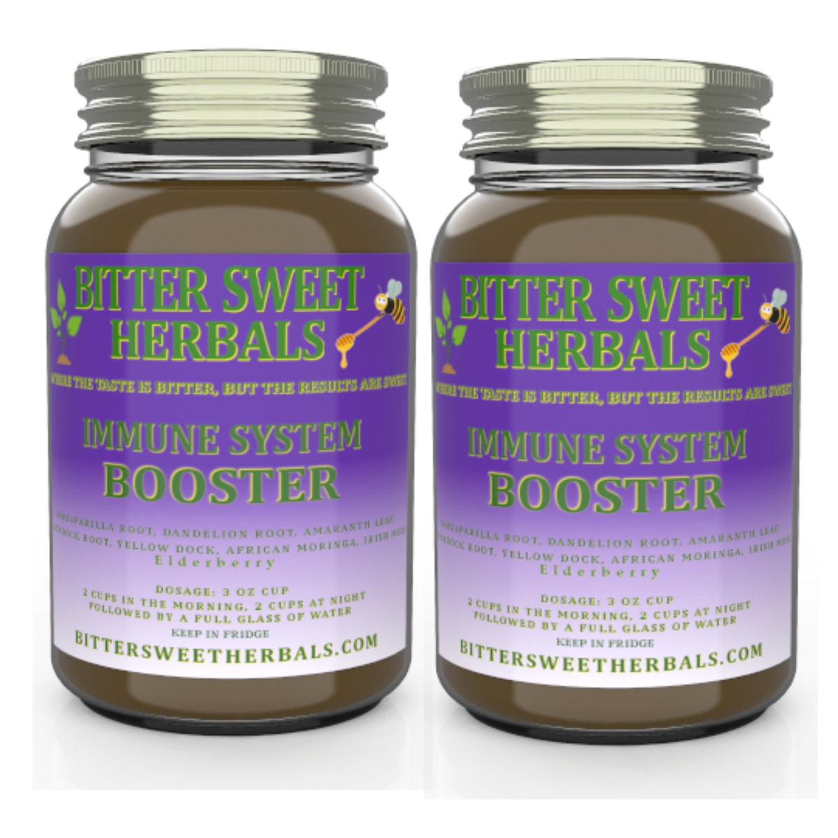 In stock - Half Gallon Immune System Booster