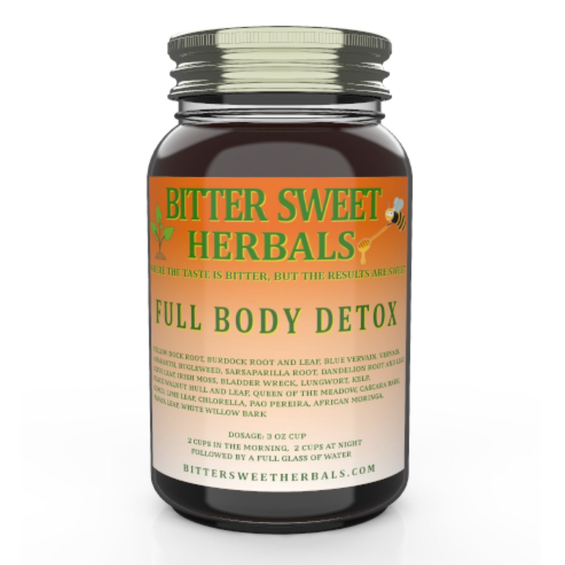 Quart Bottle Full Body Detox