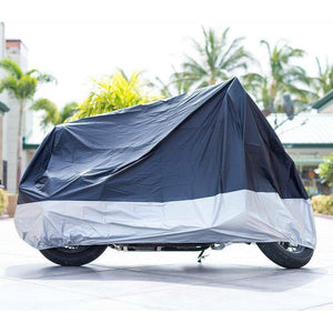 "Anti-UV, Waterproof, Dustproof-Motorcycle Cover(Fits UP TO 102"" Motors)-50% OFF TODAY"