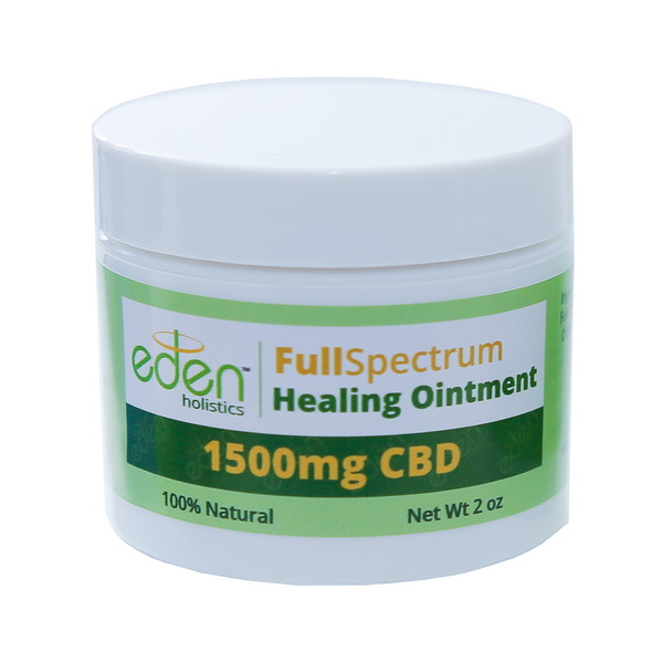 2oz - 1500mg Healing Ointment - Full Spectrum - 0.3% THC