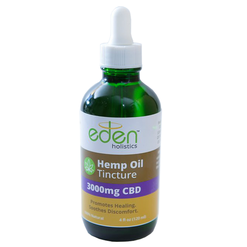 4oz - 3000mg Hemp Oil Tincture - THC Free