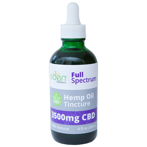 4oz - 3,500mg - CBD Tincture FULL SPECTRUM 0.3% THC