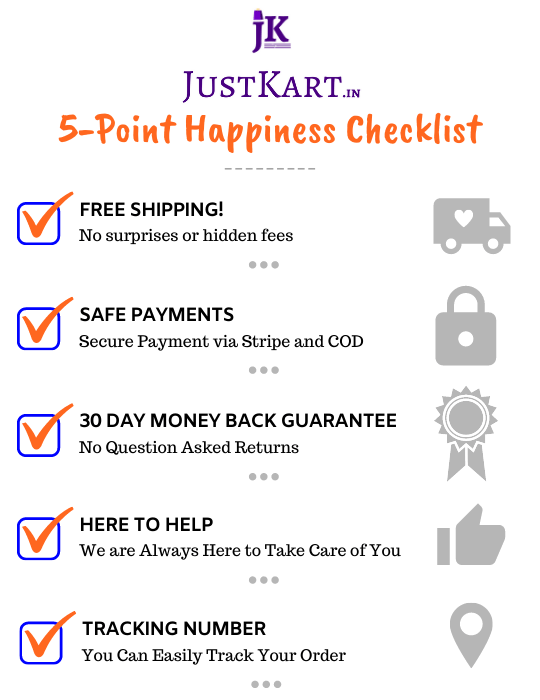 5 point happiness checklist