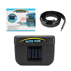 JustKart.in Autocool Car Solar Fan - Keep Your Parked Car Cool