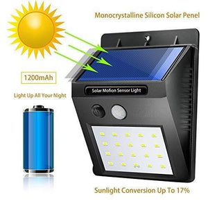 JustKart.in Motion Sensor Solar LED Wall Light