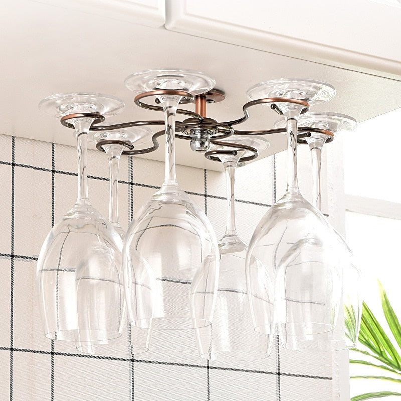 The Chandelier - Inverted Wine Glass Rack