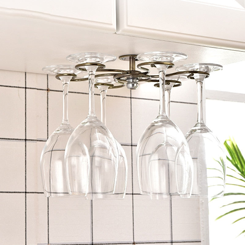 The Chandelier - Inverted Glass Rack
