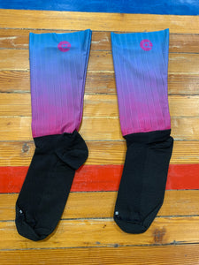 Calcetines speedsockz purple blue