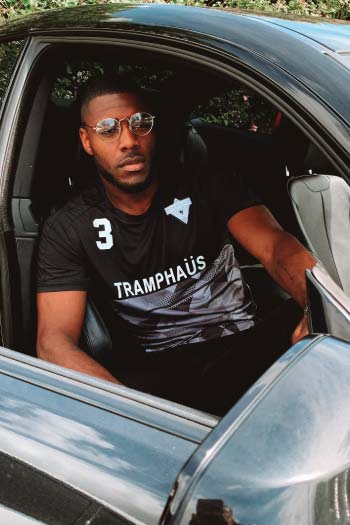 F.C. TRAMPHAÜS  Home Jersey-BLACK - TRAMPHAÜS LONDON