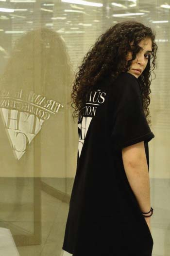 VOGUE COLLECTION TEE BLACK - TRAMPHAÜS LONDON